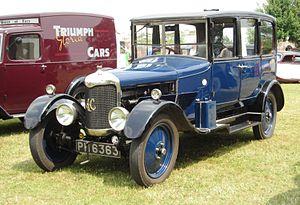 AC Cars - AC 16 Royal saloon 1927