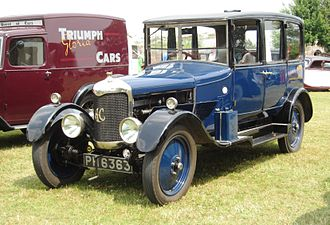 AC Cars - AC 16 Royal saloon 1927