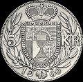 AHK 5 Kronen 1900 reverse.jpg