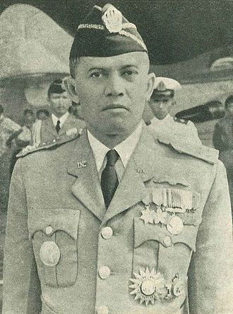 Abdul Haris Nasution - Nasution in uniform, c. 1960