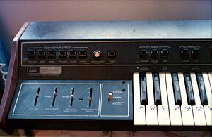 ARP Pro Soloist - Sliders on ARP Pro-Soloist Keyboard