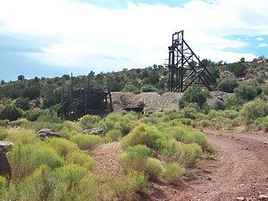 Asarco - Asarco mine in Silver Reef, Utah