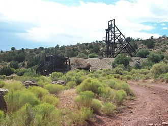 Asarco - Asarco mine in Silver Reef, Utah
