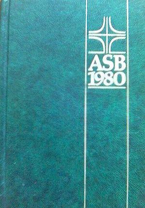 Alternative Service Book - Front cover of the Alternative Service Book — ASB 1980.