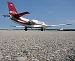A Cessna Citation II and Citation M2 at LaCrosse.jpg