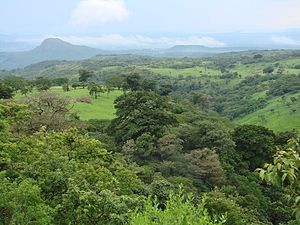 Deforestation in Costa Rica - Costa Rica's tropical landscape