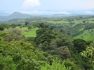Deforestation in Costa Rica - Costa Rica's tropical landscape