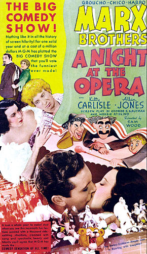 alt=Description de l'image A Night at the Opera poster.jpg.