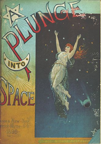 Eaton Collection - A Plunge into Space by Robert Cromie (1890), a rare book in the Eaton Collection