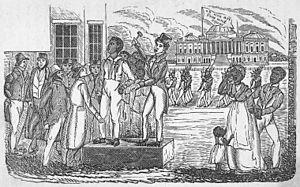 Scramble (slave auction) - A slave auction