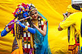 A couple dressed up for the Festival of Chariots Hindu culture religion rites rituals sights.jpg