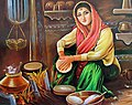 A girl is making food for her whole family by Harleen Sandhu.jpg