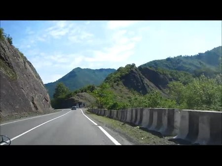 File:A road in the Borjomi Valley.webm