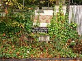 A sign on the wall at the Gravel Hill end of the Hop Gardens - geograph.org.uk - 1526578.jpg