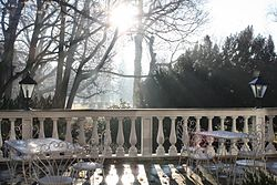 A terrace in Baden, Austria.JPG