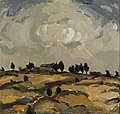 Aalto, Ilmari - Autumn landscape with clouds - Google Art Project.jpg
