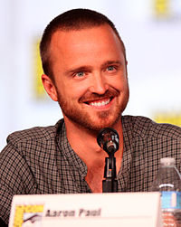 Aaron Paul vid San Diego Comic-Con International 2012.