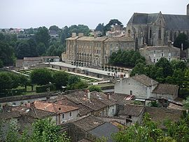 The royal abbey of Our Lady, in Celles-sur-Belle