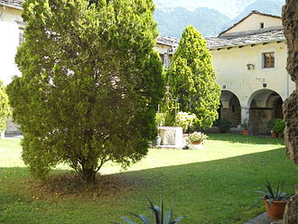 Novalesa Abbey - Cloister of the Abbey