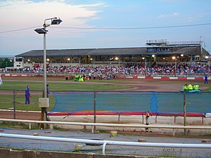 Swindon Stadium - Image: Abbeyracerobins