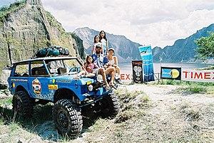 Dale Abenojar - Image: Abenojar Pinatubo