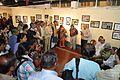 Abhoy Nath Ganguly - Addressing - Opening Ceremony - Atanu Ghosh Solo Exhibition - Kolkata 2013-12-05 4652.JPG