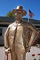 Abner Weed statue, Centennial Plaza, Weed, California.jpg