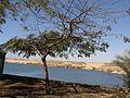 Abu Simbel Nile lake.jpg