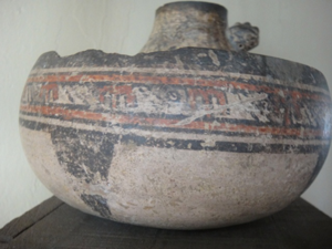 Ancient footprints of Acahualinca - Image: Acahualinca Ceramica