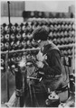 Acetylene welding on cylinder water jacket., 1918 - NARA - 530779.tif