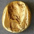 Achaemenid coin daric 420BC back.jpg
