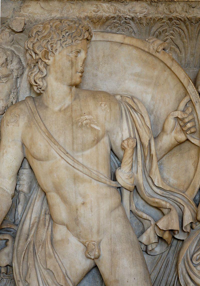 Grčka mitologija - Page 6 800px-Achilles_by_Lycomedes_Louvre_Ma2120