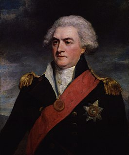 Adam Duncan, 1st Viscount Duncan Royal Navy admiral