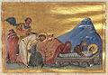 Adauctus and His Daughter Callisthene of Ephesus (Menologion of Basil II).jpg
