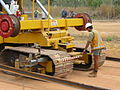 Adelaide - Darwin railway line construction at Livingstone Airstrip (17).jpg
