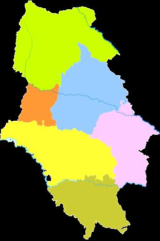 Haidong - Image: Administrative Division Haidong