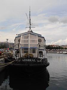 Admiral IMO 8941743 Stern Tallinn 14 July 2012.JPG