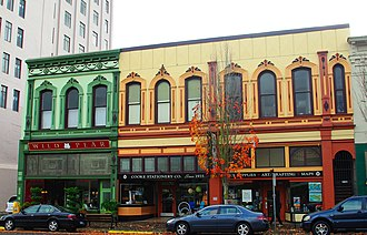 National Register of Historic Places listings in Marion County, Oregon - Image: Adolph Block Salem, Oregon