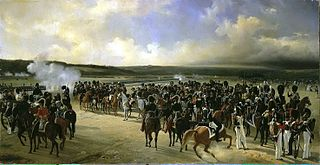 Review of the French Guards in the Presence of Charles X