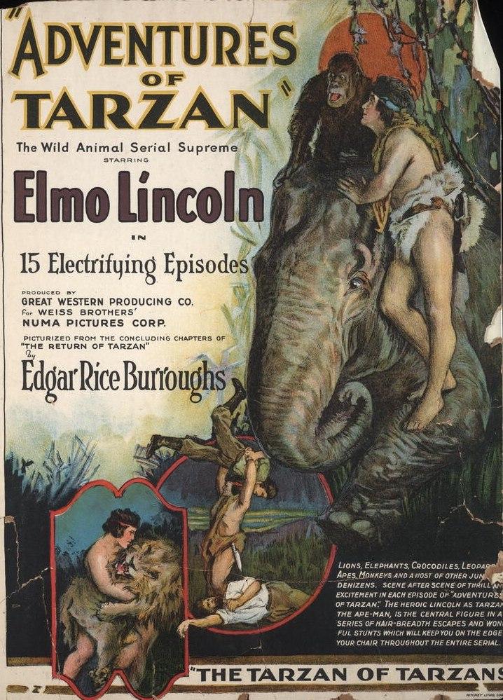 Adventures of Tarzan - Elmo Lincoln