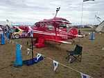 Aerotek Pitts Special S-2A (VH-URL) on display at the 2015 Australian International Airshow.jpg