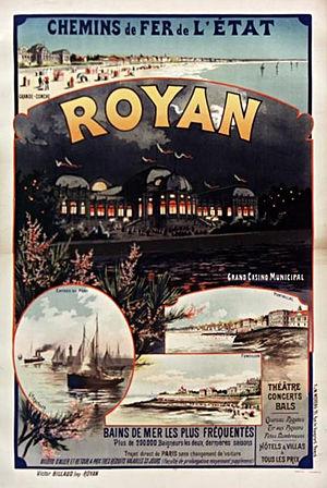 Gustave Fraipont - Image: Affiche Etat Royan