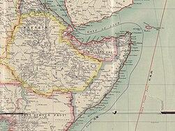 Africa 1909, Edward Hertslet (Horn of Africa, detail).jpg