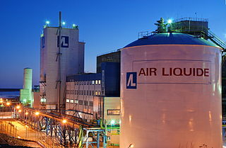 Air Liquide French multinational company which supplies industrial gases and services
