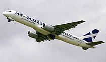 Air scotland boeing 757 SX-BLW.jpg