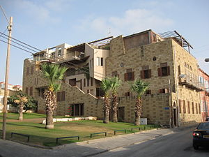 Ajami, Jaffa - Restored historic building