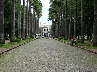 Praça da Liberdade - The place.