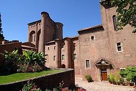 Vue du palais de la Berbie.