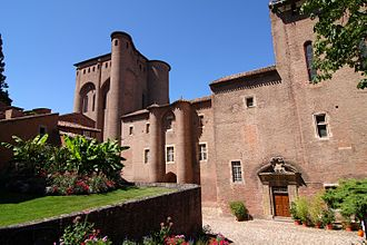 Albi - View of Palais de la Berbie