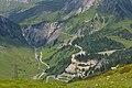 Albona, Paul-Pantlin-Weg, Neutrassierung der Arlbergstrasse, mit Anbindung Flexenpass.JPG